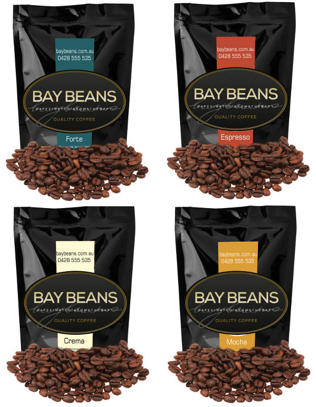 Variety Pack coffee beans (Mocha Prince, Espresso Master, Forte & Super Crema) $59.70